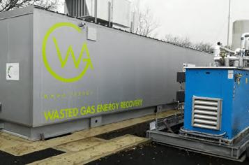 Waga – Saint-Palais Landfill Project: Gas-to-Biomethane - Biogas plant equipment