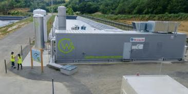 Waga – Pavie Landfill Project — Gas-to-Biomethane - Biogas plant equipment