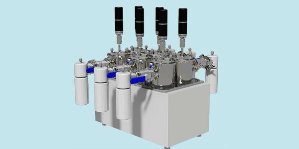 Anaero Technology-Phoenix model - Biomethane potential test sets (BMP model)