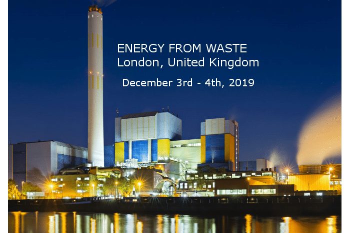 FCC Environment presents at Energy from Waste 2019