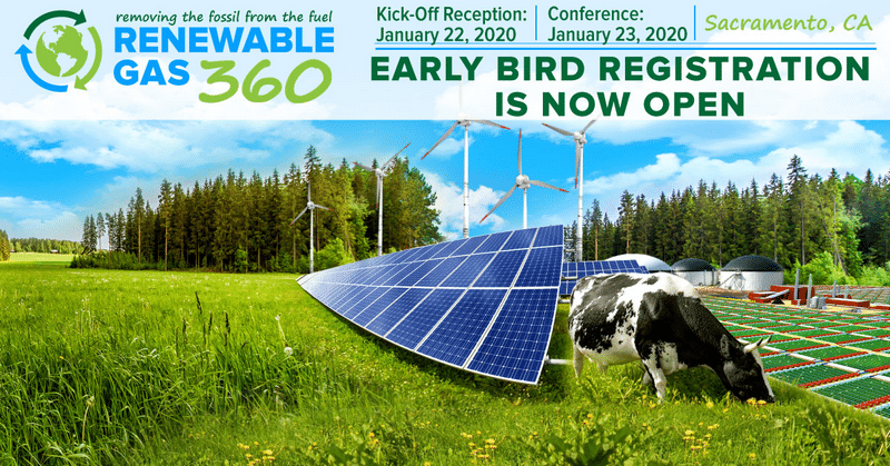 Early Bird Registration Is Open for Renewable Gas 360
