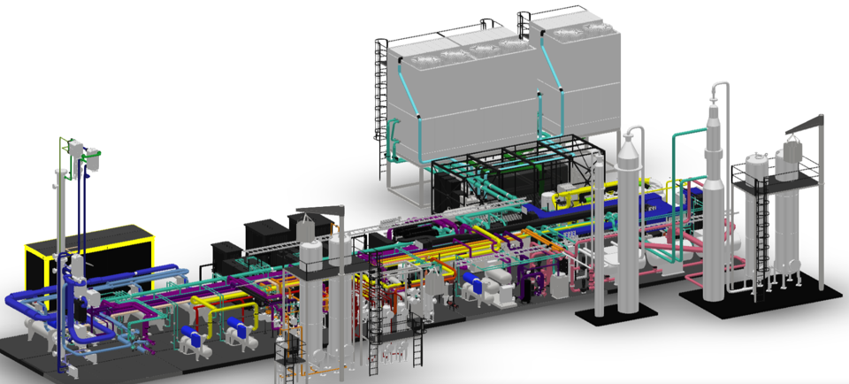 Sysgaz - Typical 20 TPD Gas processing Plant using Greenmac upgrading technology