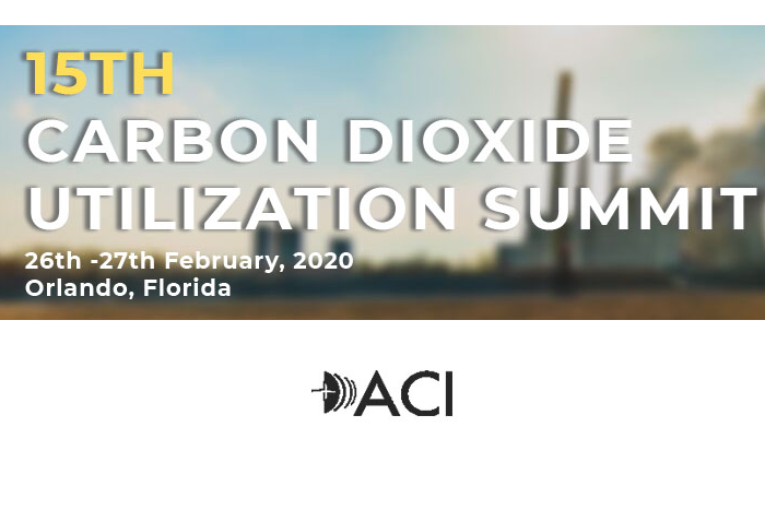 15th Carbon Dioxide Utilization Summit is Less Than 3 Weeks From Now!