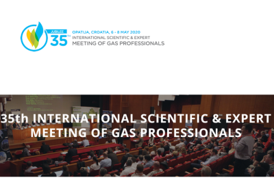 Meet more than 600 experts at the International Scientific & Expert meeting of gas professionals