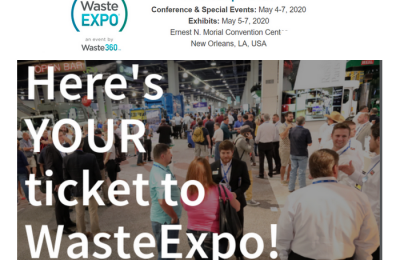 Save to Attend WasteExpo 2020!