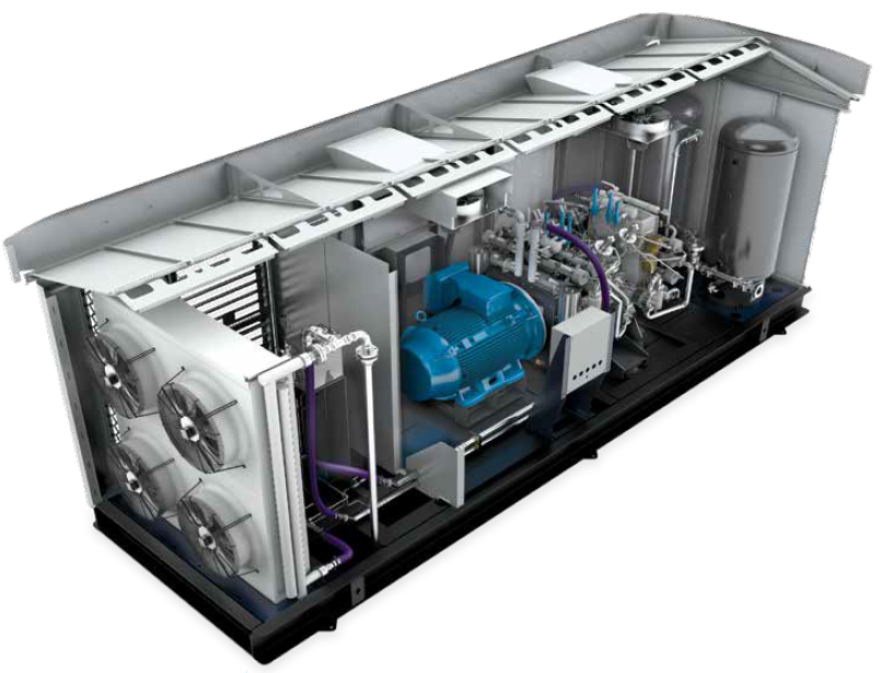 BAUER CNG Compressor Systems - BAUER C52 X-Fill