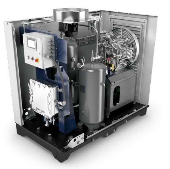 BAUER CNG Compressor Systems - BAUER Compact Series C15-22_example