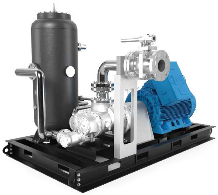 BAUER GRU™ 76 Gas Recovery System example