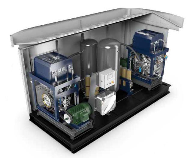 BAUER CNG Compressor Systems - BAUER M-Series Duplex