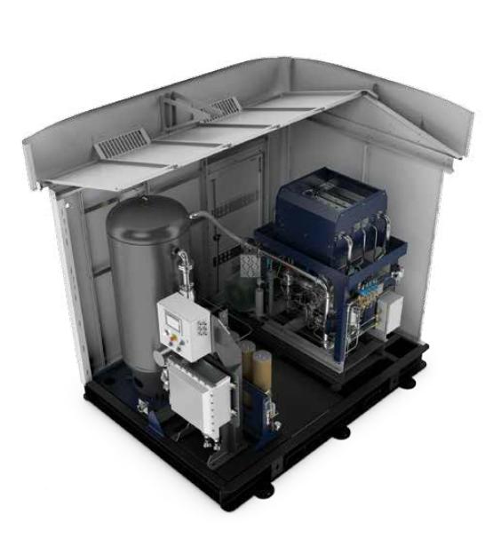 BAUER CNG Compressor Systems - BAUER M-Series Simplex