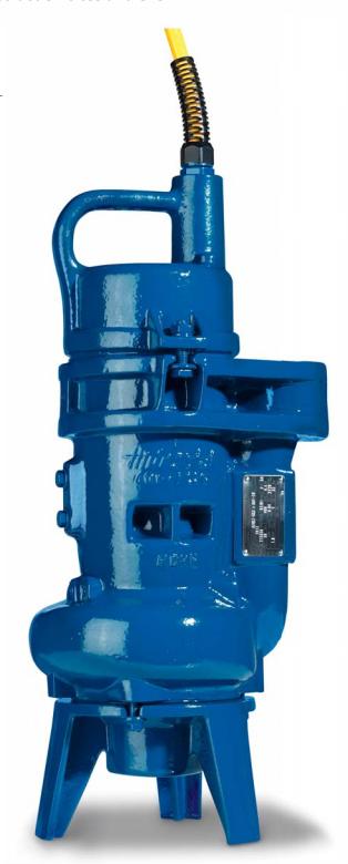 Integral-Hidrostal Centrifugal Pumps - compact pumps