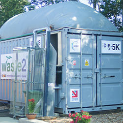 Compact anaerobic digester - Waste2ES