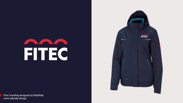 Fitec- Rebranding - Picture of the new promotional jacket