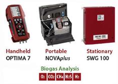 Photo des analyseurs pour biogaz de MRU-Instruments - Fournisseurs technologies biogaz