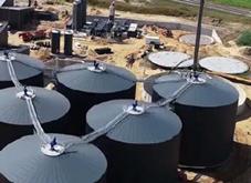 Photo du réservoir de digesteur phare par Schumann Tanks - Fournisseurs technologies biogaz