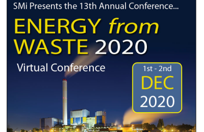 SMi Group's 13th Annual Energy from Waste Conference Goes Virtual