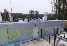 Photo du projet du Groupe Baudelet Environnement par Waga Energy - Système épuration - Fournisseurs technologies biogaz