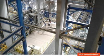 Picture-port-cartier biofuel plant project