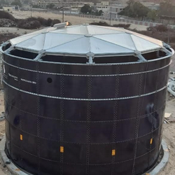 Santeks Baltic UAB-Coated Steel digester picture in Egypt