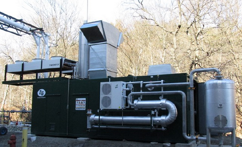 2G-CHP for Breweries - Picture of the Yuengling project in Pottsville, PA
