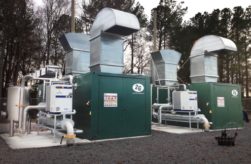 2G Energy - CHP for landfill - Picture of a project example - Facility