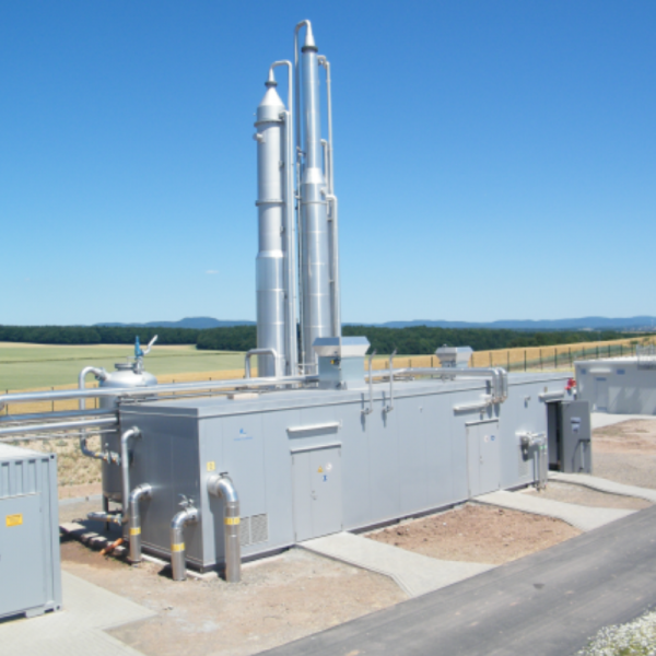 Biogas Upgrading Plant