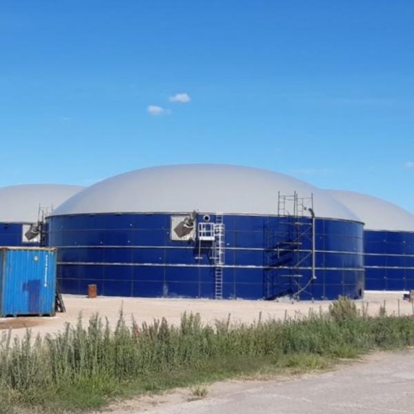 Double Membrane Gas Storage