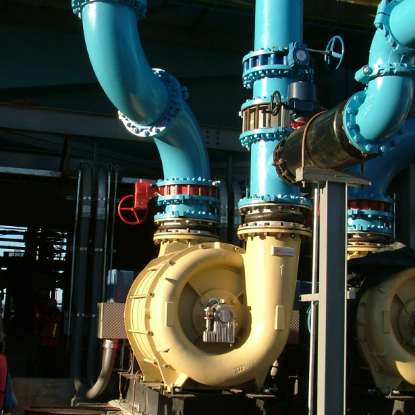 Multi-Stage Centrifugal Blowers